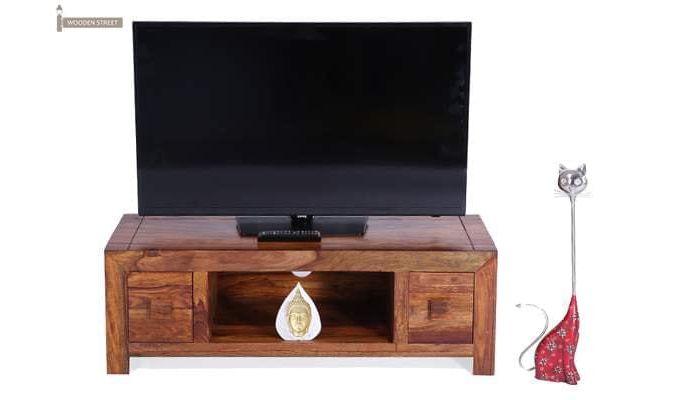 Pasifica Tv Stand (Teak Finish)-2
