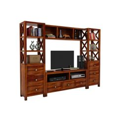 Pippin Tv Unit (Honey Finish)