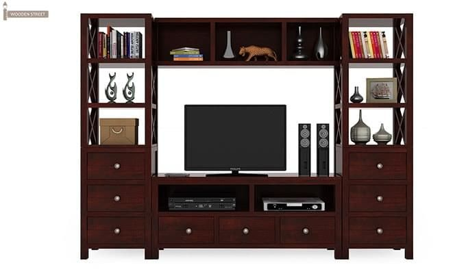 Pippin Tv Unit (Mahogany Finish)-2