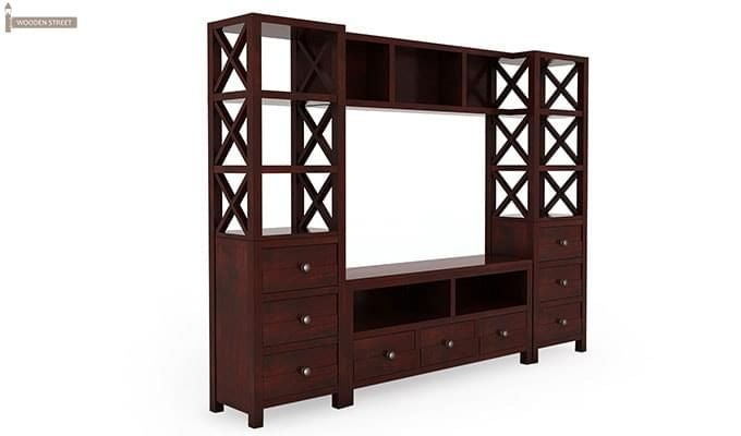 Pippin Tv Unit (Mahogany Finish)-3