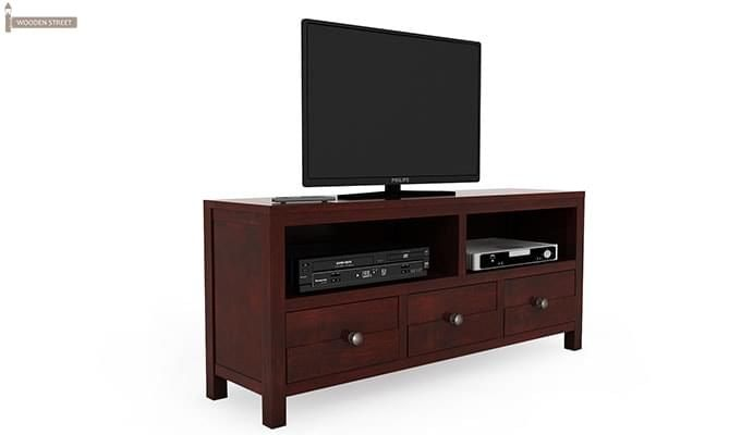 Pippin Tv Unit (Mahogany Finish)-7