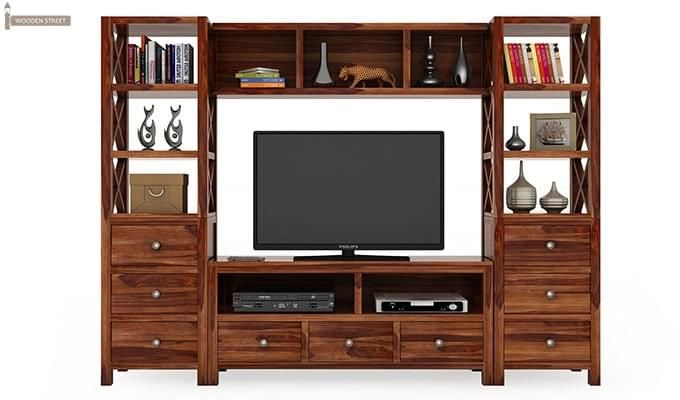 Pippin Tv Unit (Teak Finish)-2
