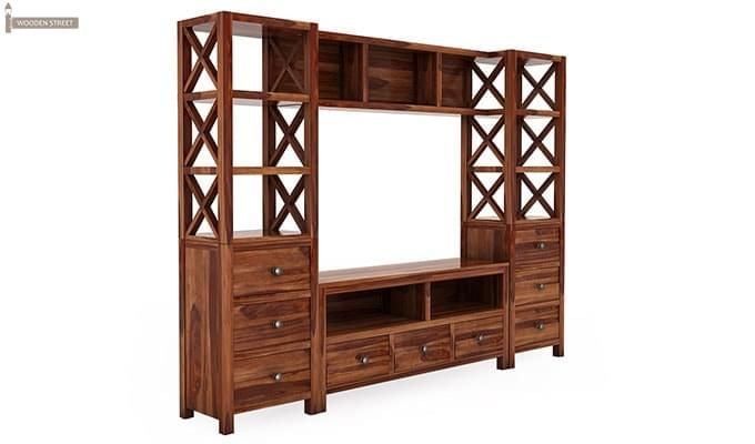 Pippin Tv Unit (Teak Finish)-3