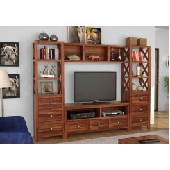 Pippin Tv Unit (Teak Finish)