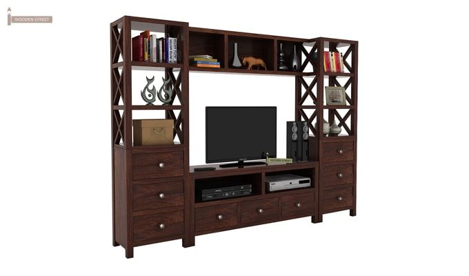 Pippin Tv Unit (Walnut Finish)-1