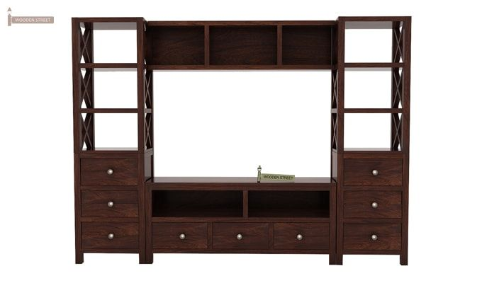 Pippin Tv Unit (Walnut Finish)-2