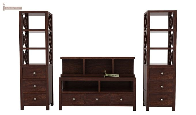 Pippin Tv Unit (Walnut Finish)-3