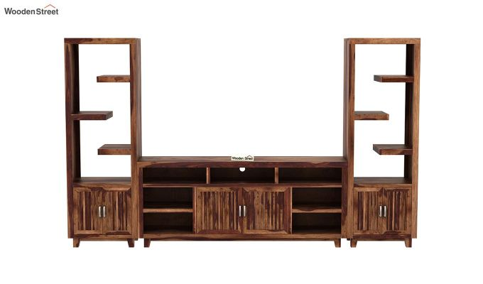 Reverie Tv Unit (Teak Finish)-4