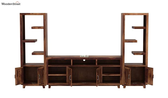 Reverie Tv Unit (Teak Finish)-5