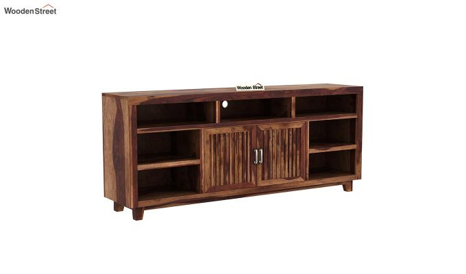 Reverie Tv Unit (Teak Finish)-8