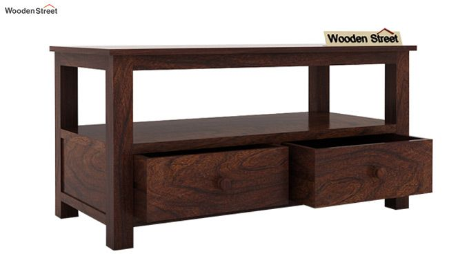 Parker Tv Unit (Walnut Finish)-4