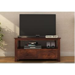 Parker Tv Unit (Walnut Finish)