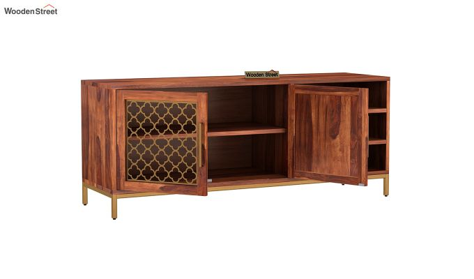 Rivia Tv Unit (Honey Finish)-4