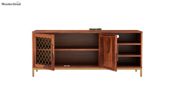 Rivia Tv Unit (Honey Finish)-5