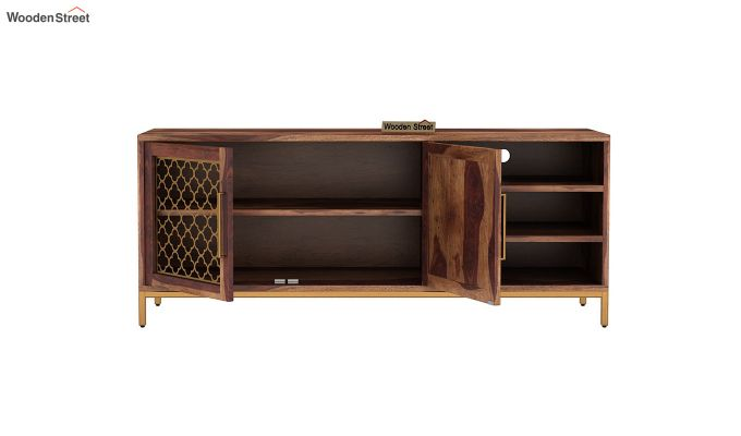 Rivia Tv Unit (Teak Finish)-5
