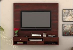 Tv Stand Cabinets 2018 In Mumbai Snle Wall Mount