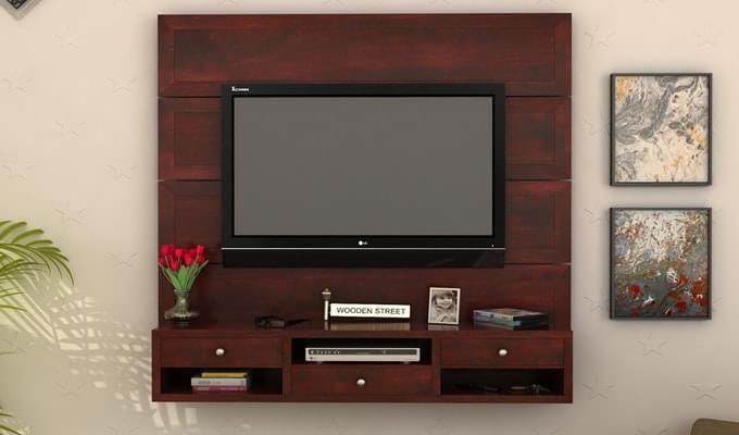 tv wall mount with shelf