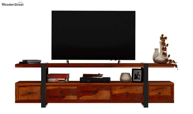 Solari Tv Unit (Honey Finish)-3