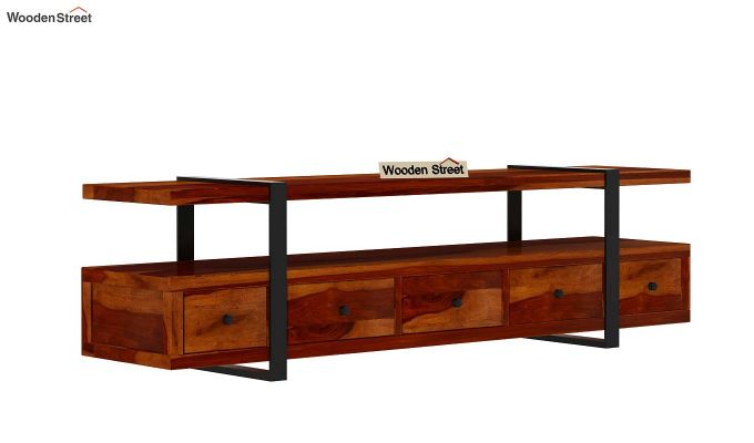 Solari Tv Unit (Honey Finish)-4