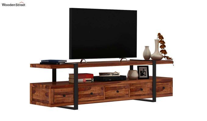 Solari Tv Unit (Teak Finish)-2