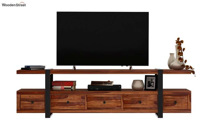 Solari Tv Unit (Teak Finish)-3