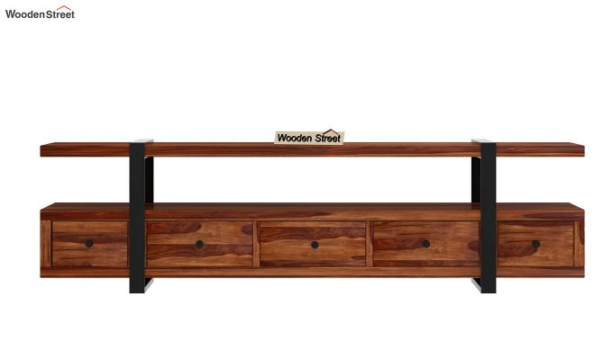 Solari Tv Unit (Teak Finish)-5