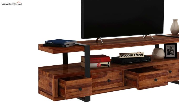 Solari Tv Unit (Teak Finish)-6