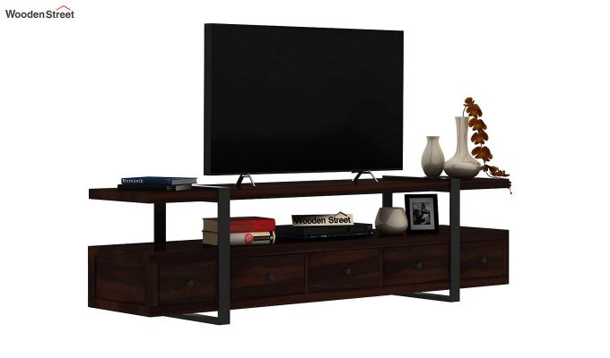 Solari Tv Unit (Walnut Finish)-2
