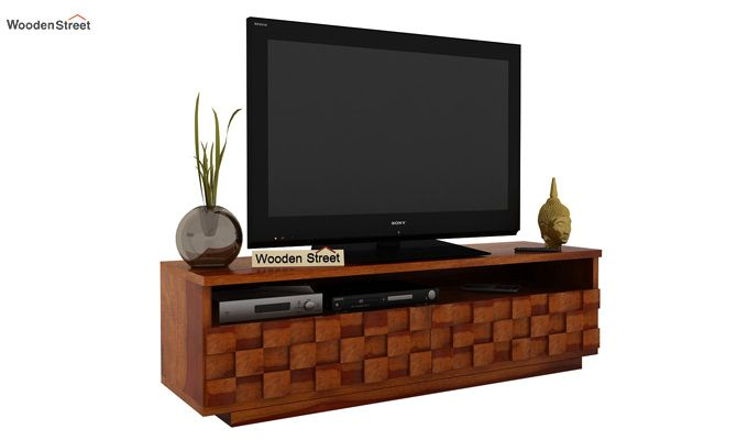 Travis Tv Unit (Honey Finish)-2