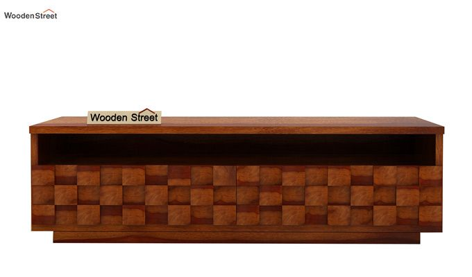 Travis Tv Unit (Honey Finish)-3