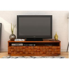 Travis Tv Unit (Honey Finish)