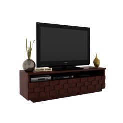 Travis Tv Unit (Mahogany Finish)