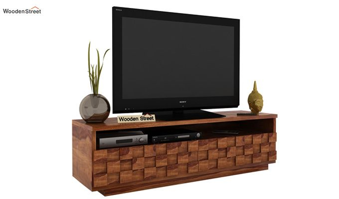 Travis Tv Unit (Teak Finish)-1