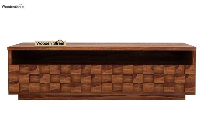 Travis Tv Unit (Teak Finish)-2