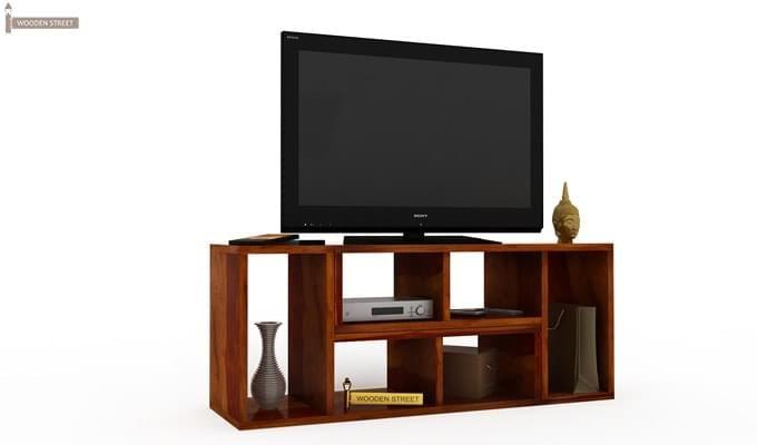 Vincent Multi-Functional Tv Unit (Honey Finish)-4