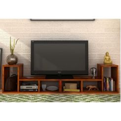 Vincent Multi-Functional Tv Unit (Honey Finish)