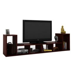 Vincent Multi-Functional Tv Unit (Mahogany Finish)