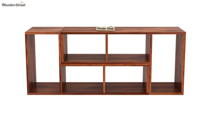 Vincent Multi-Functional Tv Unit (Honey Finish)-5