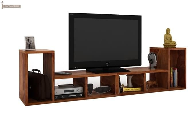 Vincent Multi-Functional Tv Unit (Teak Finish)-1