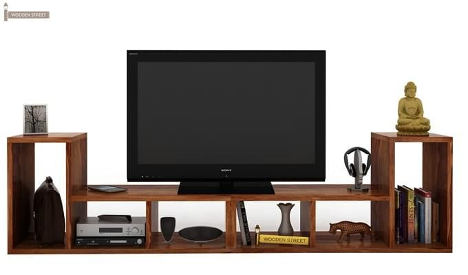 Vincent Multi-Functional Tv Unit (Teak Finish)-2