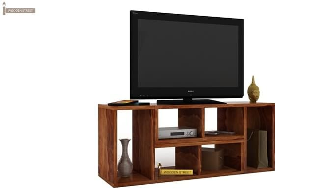 Vincent Multi-Functional Tv Unit (Teak Finish)-3