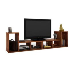 Vincent Multi-Functional Tv Unit (Teak Finish)