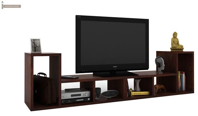 Vincent Multi-Functional Tv Unit (Walnut Finish)-1