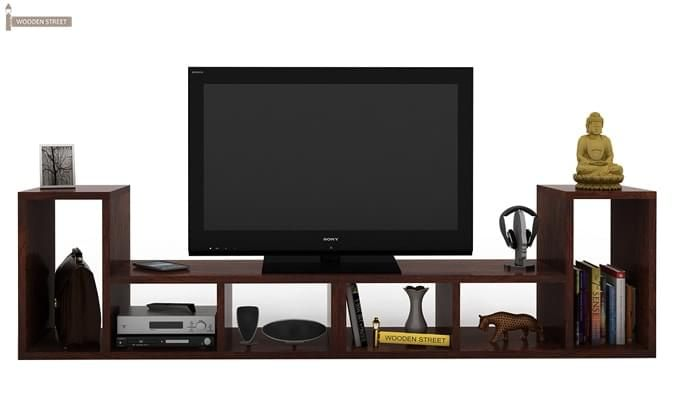 Vincent Multi-Functional Tv Unit (Walnut Finish)-2