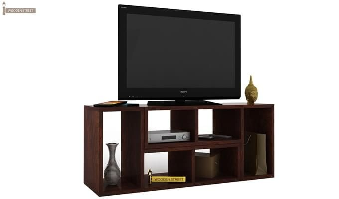 Vincent Multi-Functional Tv Unit (Walnut Finish)-3