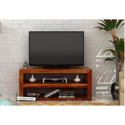 Weaver Tv Unit (Honey Finish)