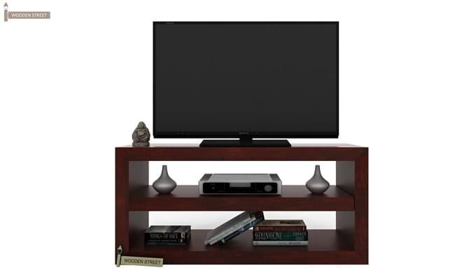 Weaver Tv Unit (Mahogany Finish)-1