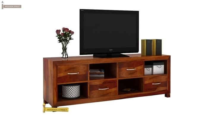 Weston Tv Unit (Honey Finish)-1