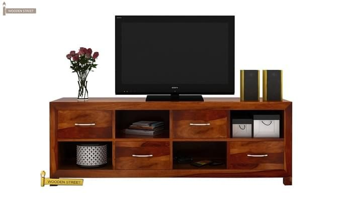 Weston Tv Unit (Honey Finish)-2