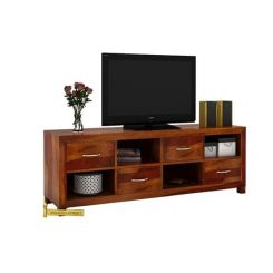 Weston Tv Unit (Honey Finish)